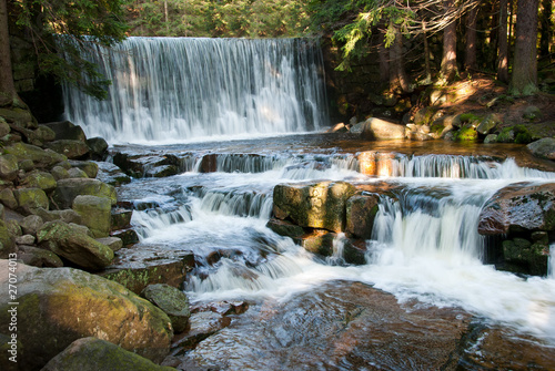 Waterfall Dziki - fototapety na wymiar