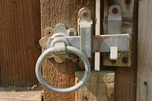 Rustic Garden Gate Latch