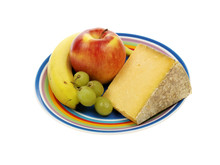 Cheshire Cheese With Fruit
