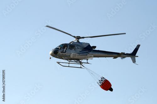 Türaufkleber Hubschrauber elicottero