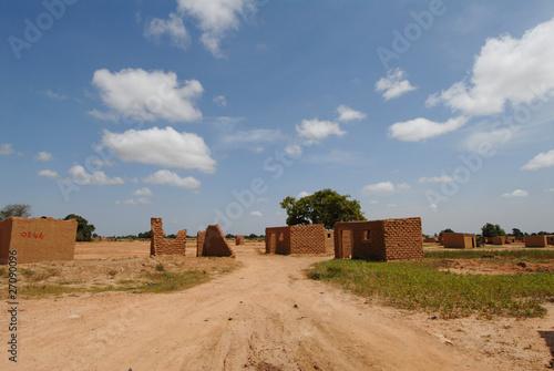 Keuken foto achterwand Baobab villaggio africano