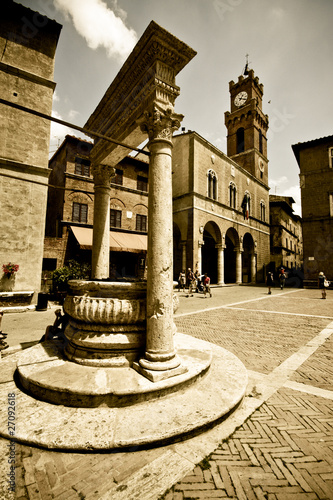 Tuscan historic architecture