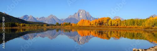 Fotografia Grand Tetons panorama