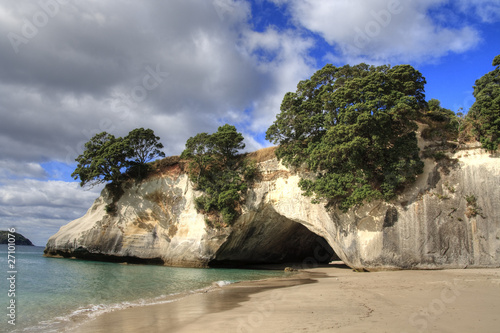 Deurstickers Cathedral Cove Cathedral Cove Coromandel Arch