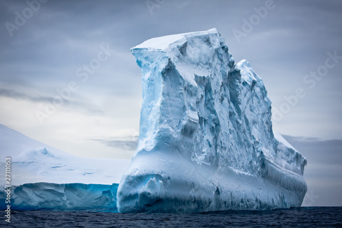 Photo sur Aluminium Antarctique Antarctic iceberg