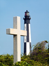 Cross And Lighthouse