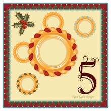 The 12 Days Of Christmas - Five Gold Rings