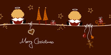 2 Christmas Angels & Symbols B...