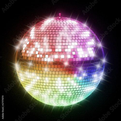 Fotografía  colorful disco ball