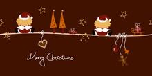 2 Christmas Angels Santa´s Ha...