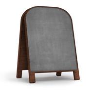 Old  Empty Notice Board