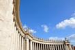 Leinwanddruck Bild - Rom-Petersplatz