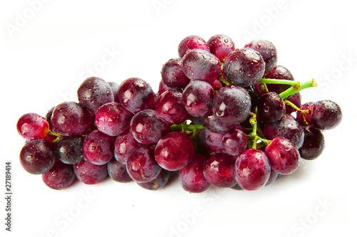 Fotografia  uva rossa