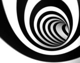 Fototapeta Perspektywa 3d - imagen 3d de remolino o tunel abstracto
