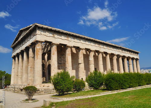 Photo  The temple of Hephaestus, Athena, Greece