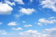 canvas print picture - Wunderschöner Himmel