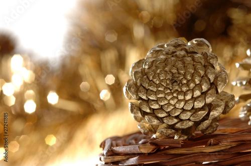 Weihnachtsschmuck Dekoration Christbaumschmuck Tannenzapfen Buy