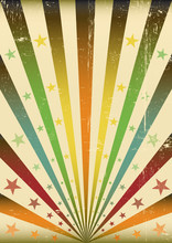 Multicolor Sunbeans Grunge Bac...