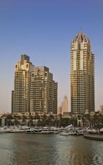 Fototapeta na wymiar Dubai Marina