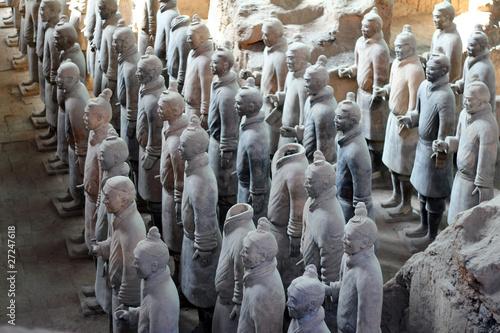 Papiers peints Xian Terracotta Warriors in Xian / China