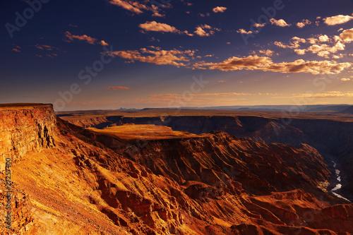 Fotografie, Obraz  Fish River canyon, Namibia