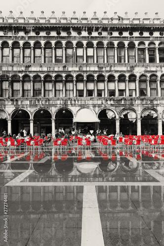 Poster Rouge, noir, blanc Wenecja_05