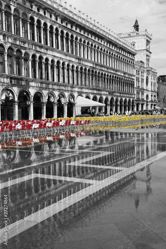 Poster Rouge, noir, blanc Wenecja_06