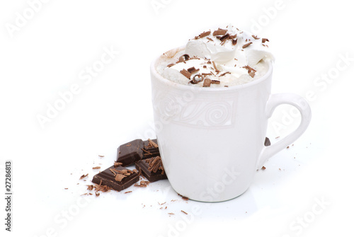 Spoed Foto op Canvas Chocolade Hot Chocolate