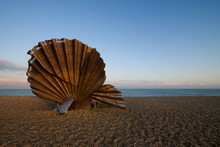 Shell Sculpture At Thorpness