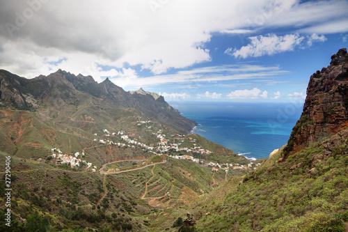 Poster Afrique du Sud Tenerife - Taganana village