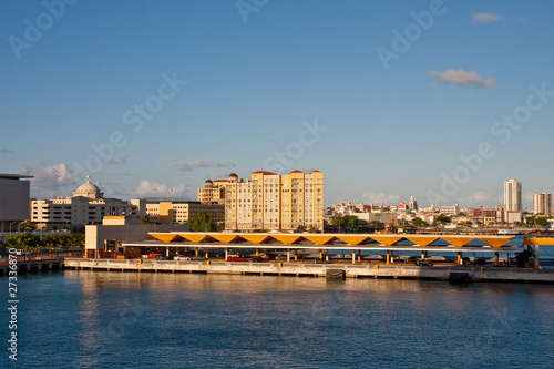 Photo Stands Europa San Juan Beyond Shipping Docks