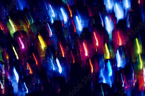 Obraz płomyki - fototapety do salonu