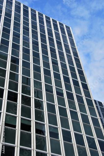 In de dag Centraal Europa Facade of a modern building