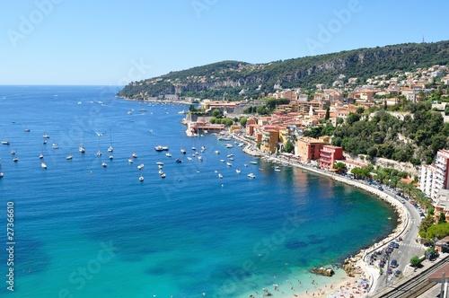 Fotografie, Obraz costa azzurra, Villefranche sur mer