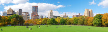 New York City Central Park Panorama