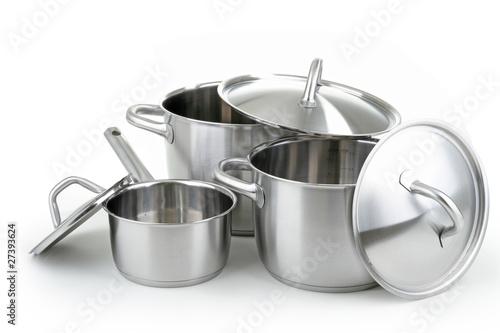 Fotografie, Obraz  casseroles, batteries de cuisine
