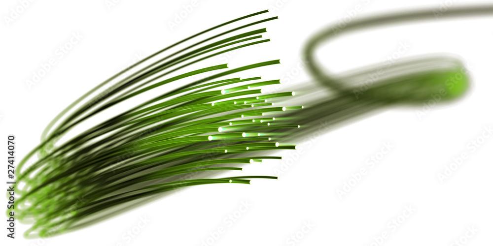 Fototapety, obrazy: Optical data transfer