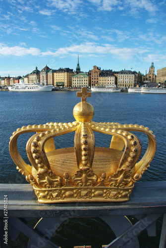 Photo  Skeppsholmen bridge and Royal palace