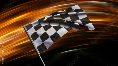 Photo sur Aluminium Motorise Am Ziel