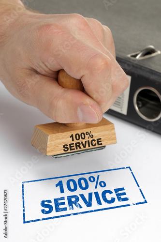 Fototapety, obrazy: 100% Service