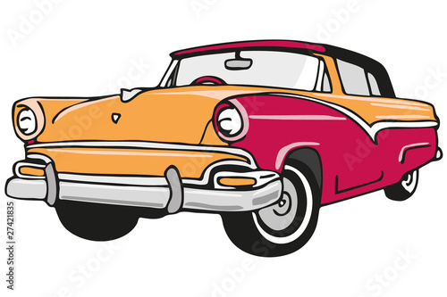 Automobile Cadillac Fototapete