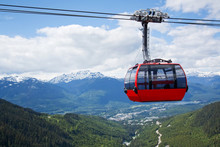Aerial Tram At Whistler Peak, ...