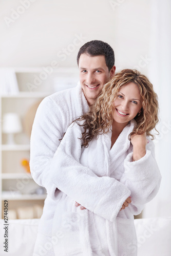 Fotografie, Obraz  Couple at home