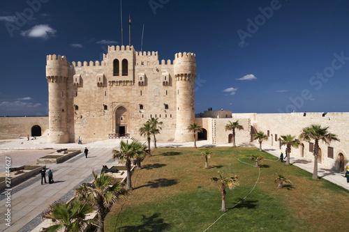 Fort Qaitbey in Alexandria Egypt Canvas Print