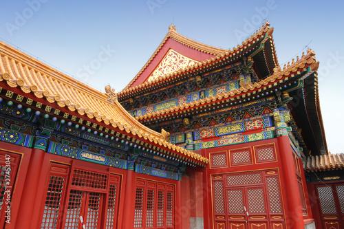 Foto op Aluminium Beijing Classical chinese architecture (Forbidden City, Beijing)