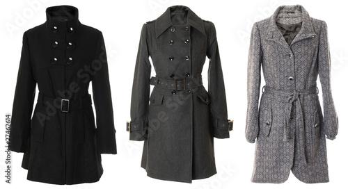 Fotografie, Tablou  Female overcoats | Isolated