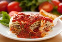 Italian Meat Sauce Lasagna
