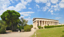 The Temple Of Hephaestus, Athena, Greece