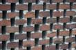 Mauer mit Hohlräumen