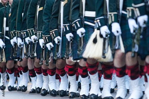 Fotomural scottish marching band